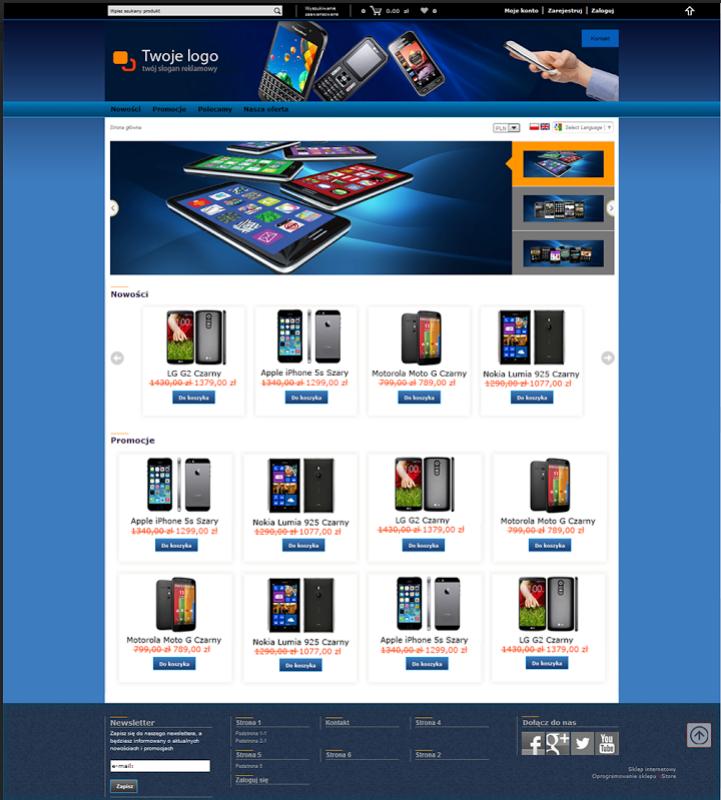 Najnowsze grafiki dla sklepu internetowego