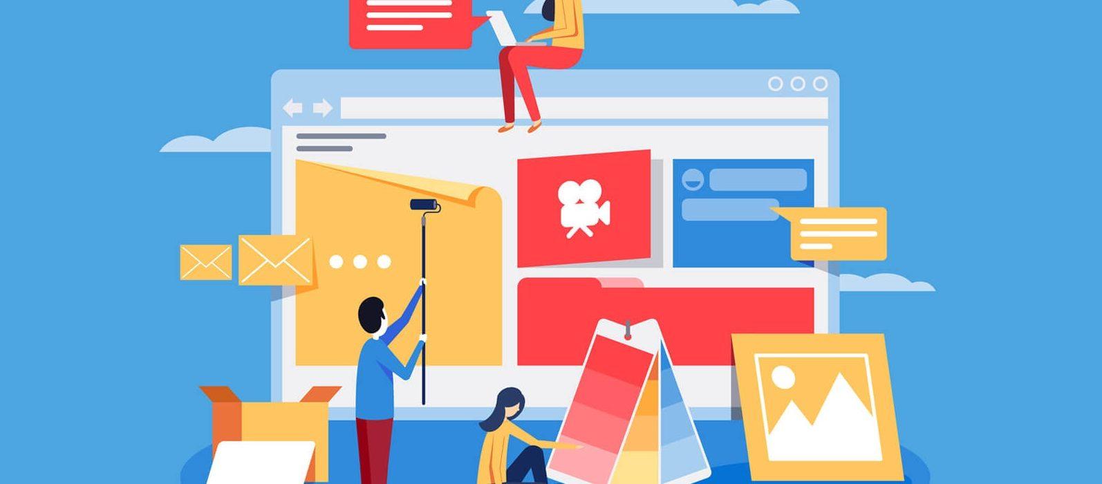 Darmowe szablony sklepu internetowego dla każdej branży - nowoczesny wygląd sklepu w wersji responsywnej - RWD